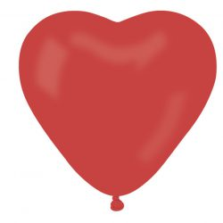 Helium Luftballon Latex Herz Rot Ballons 25 cm