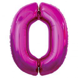 Folienballon Nummer 1 Pink 92 cm