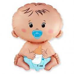Folienballon Baby Junge