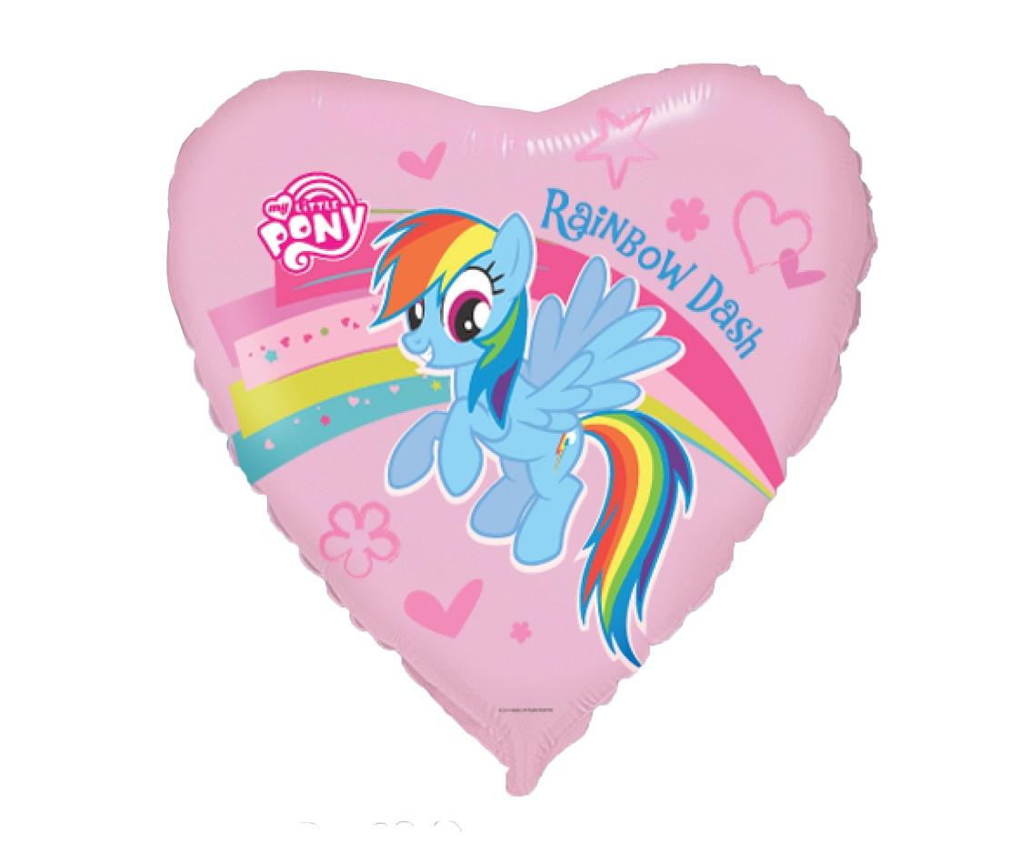 Rainbow Dash Herz